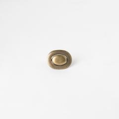 小胖轉釦 銅色 20x30mm