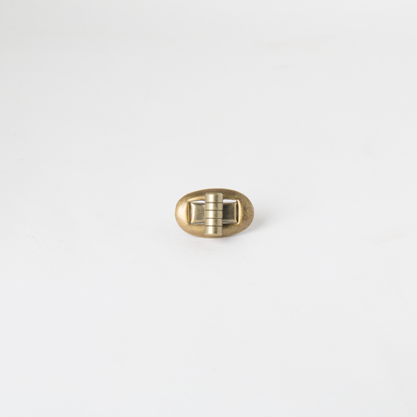 書包轉釦 銅色 17x22mm
