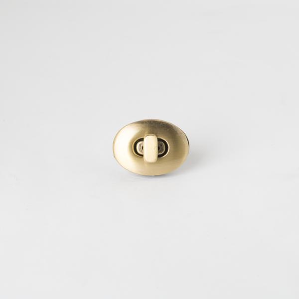 橢圓轉釦 銅色 22x30mm