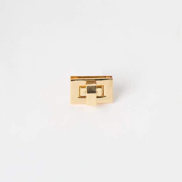 方型轉釦 金色 27x17mm