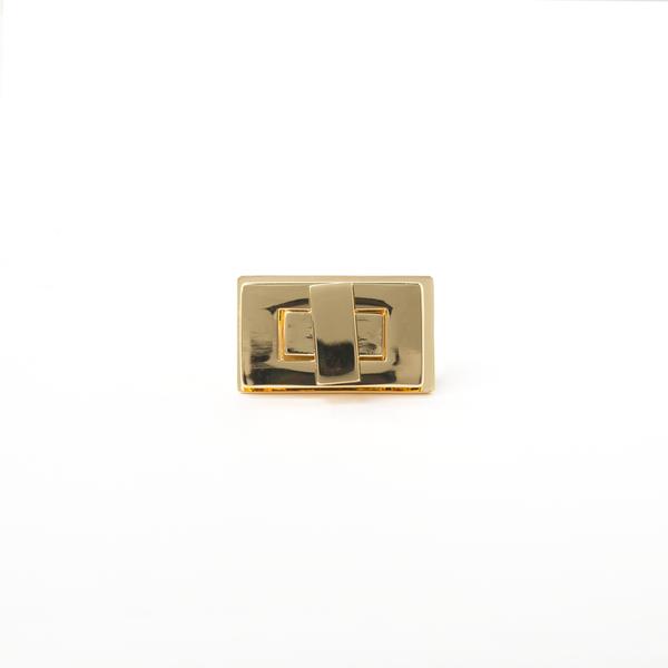 方型轉釦 金色 35x20mm