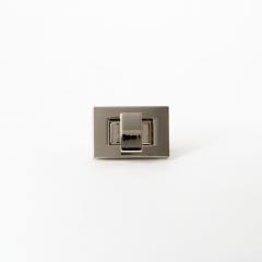 方型轉釦 銀色 35x20mm
