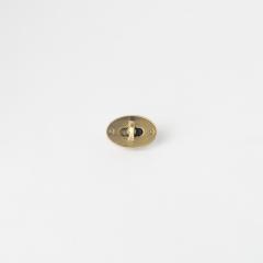 小橢圓轉釦 銅色 26x15mm