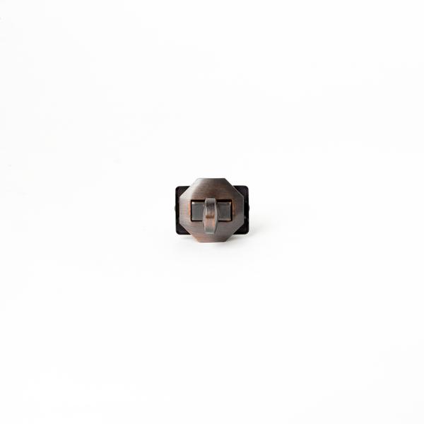 日製轉釦 紅銅 20x20mm