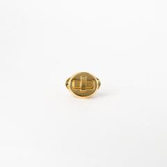 日製圓轉釦 金色 23mmx23mm