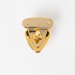日製三角轉釦 金色 40x38mm