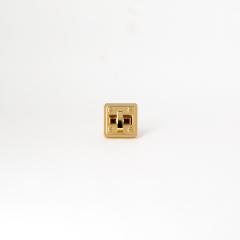 日製轉釦 金色 24x24mm