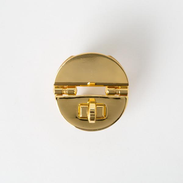 日製下壓式轉釦 金色 32mm