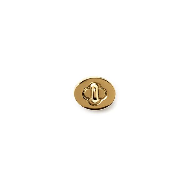 日製轉釦 金色 28*22mm