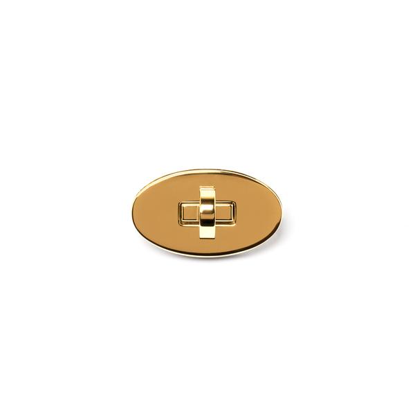 日製高級轉釦純銅 金色 55*28mm