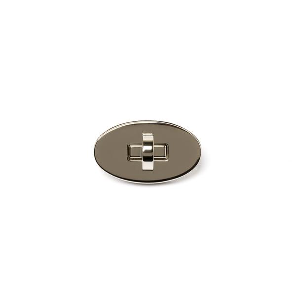 日製高級轉釦純銅 鎳白色 55*28mm
