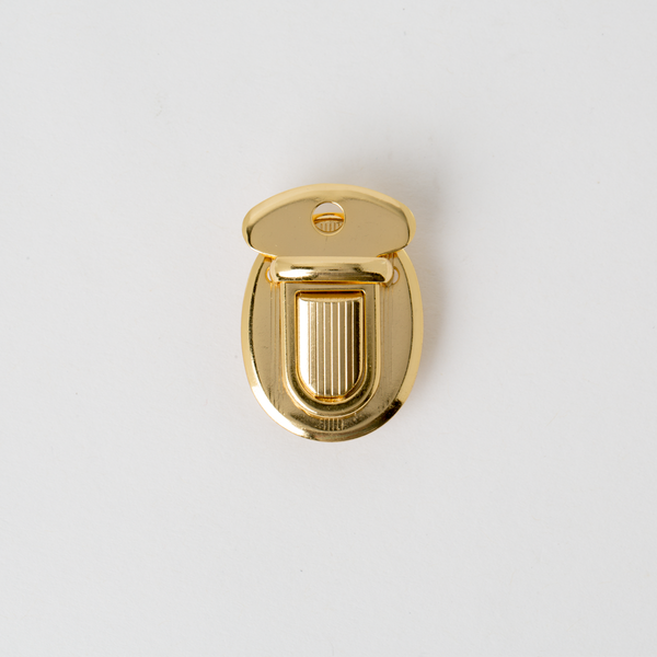 小插鎖 金色 22x35mm