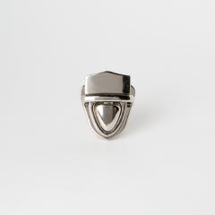 小插鎖釦 銀色 32x23mm