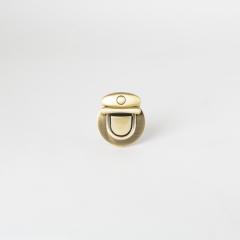 圓形插鎖 銅色 40x24mm