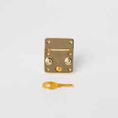 小凱莉方鎖釦 金色 35x30mm