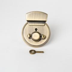凱莉圓插釦 銅色 60x38mm