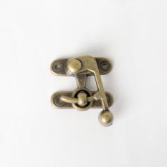 皮包鉤釦 銅色 38x35mm