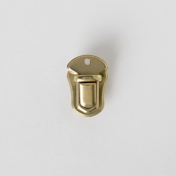 日製插鎖 黃銅色 33x23mm