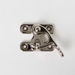 日製鎖釦 銀色 46x35mm