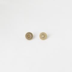 薄磁釦 銅色 14mm