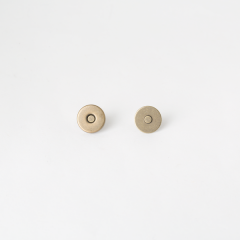 小磁釦 銅色 15mm