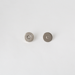 小磁釦 銀色 15mm