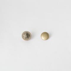 定蓋磁釦 銅色 15mm