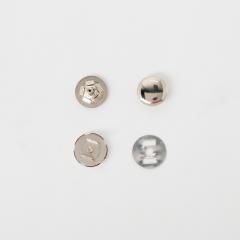 定蓋磁釦 銀色 15mm