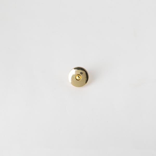 銅製圓磁釦 金色 20x20mm