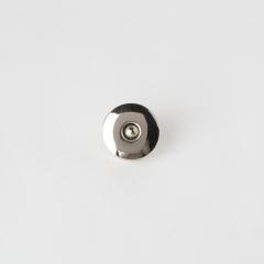 銅製圓磁釦 銀色 20x20mm