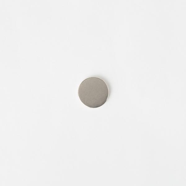 隱形強力磁釦 銀色 15mm 2入