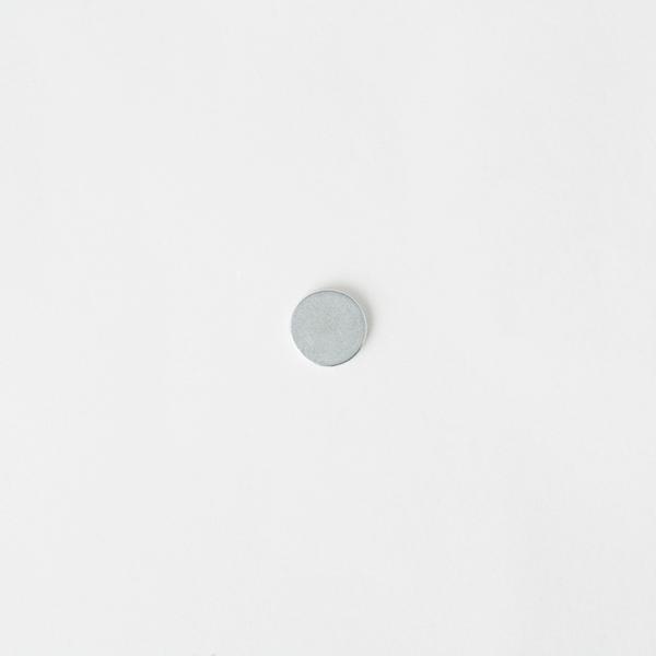隱形圓型磁釦 銀色 10*1.5mm 2入