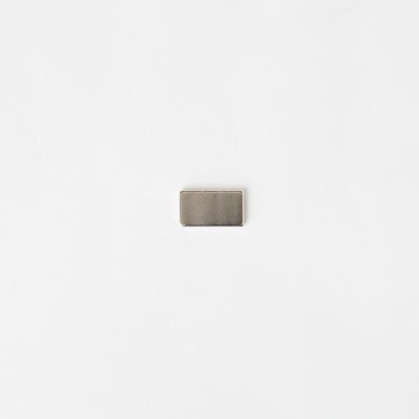隱形長方型磁釦 銀色 15*8.5*1.6mm