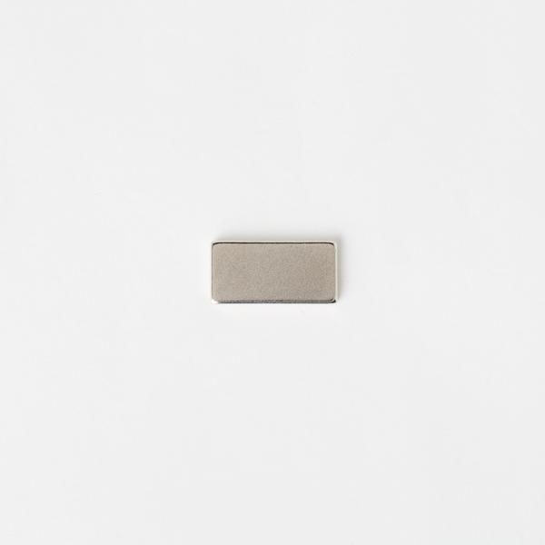 隱形長方型磁釦 銀色 20*10*2mm