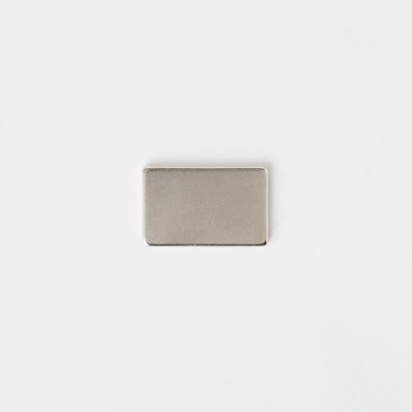 隱形長方型磁釦 銀色 25*16*2mm