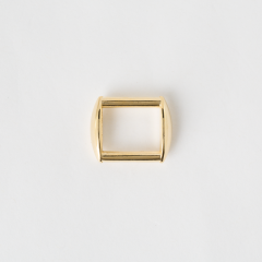 Oblong Bag Loop Gold 2cm 2 Pieces