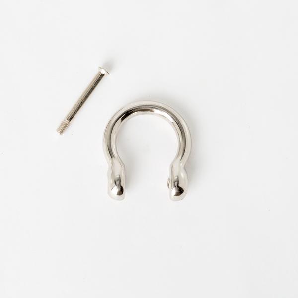 葫蘆型吊耳 銀色 20mm 2個