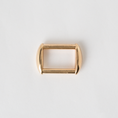 Oblong Ring Gold 2.5cm 2 Pieces