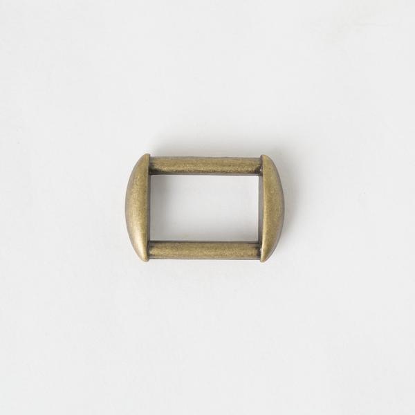 方提耳 銅色 2.5cm 2個