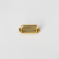 皮帶插耳 金色 25mm 2個 不二價