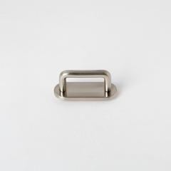 皮帶插耳 銀色 25mm 2個 不二價