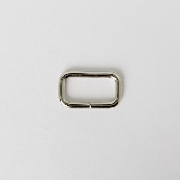 長方提耳 銀色 2.5cm 4個