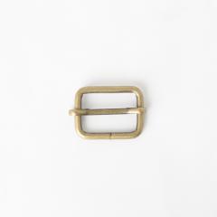 活動日型帶環 銅色 2.5cm 2個