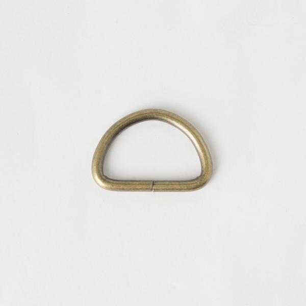 半圓提耳環 銅色 3cm 4個 不二價