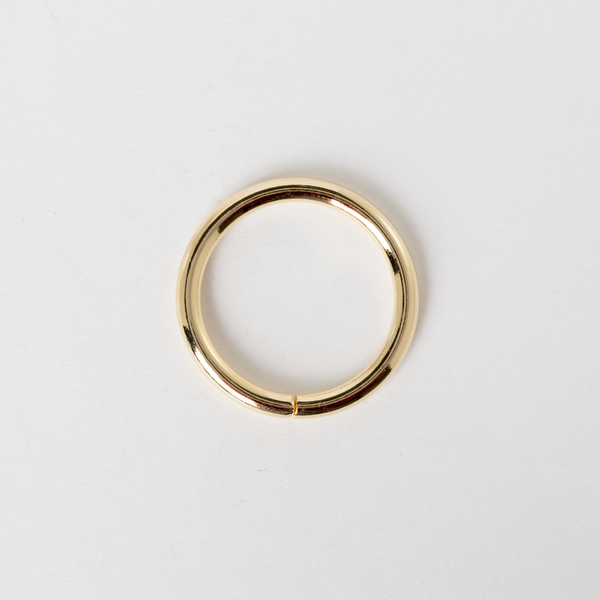 圓型提耳環 金色 3cm 4個