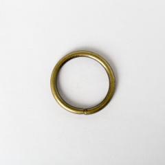 圓型提耳環 銅色 3cm 4個
