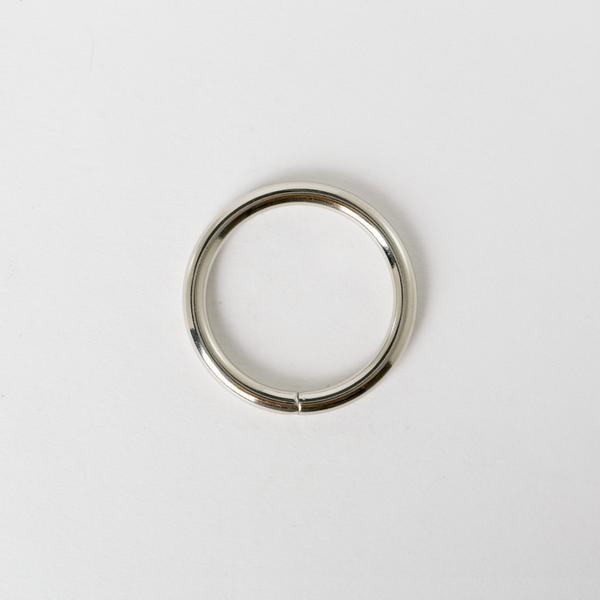 圓型提耳環 銀色 3cm 4個