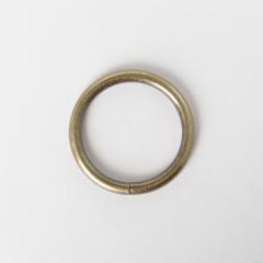 圓型提耳環 銅色 4cm 4個