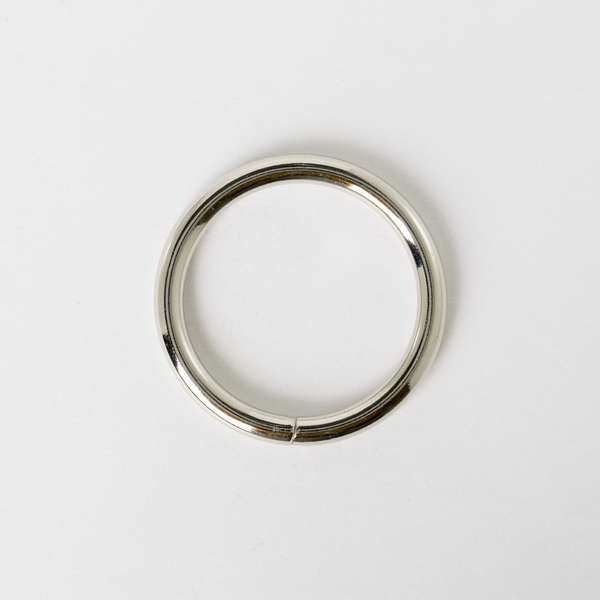 圓型提耳環 銀色 4cm 4個