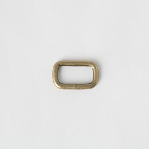 長方提耳 銅色 2cm 4個